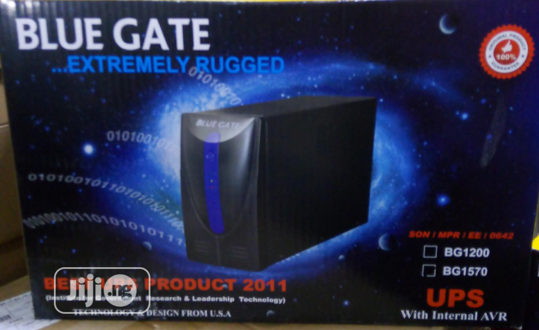 Bluegate 1.57kva UPS Bg1570 | Computer Hardware for sale in Ikeja, Lagos State, Nigeria