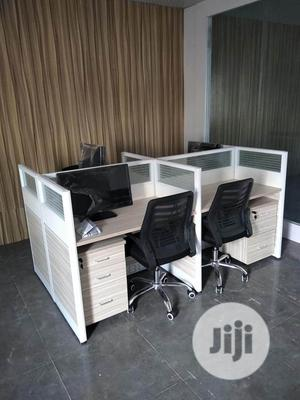 Work Station Tables by 4 Sitters With Mobile Drawers | Furniture for sale in Lagos State, Lagos Island (Eko)