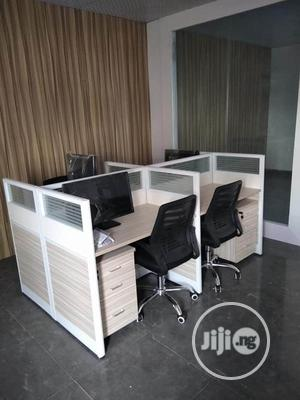 Italian Work Station Office Tables With Mobile Drawers | Furniture for sale in Lagos State, Ojo