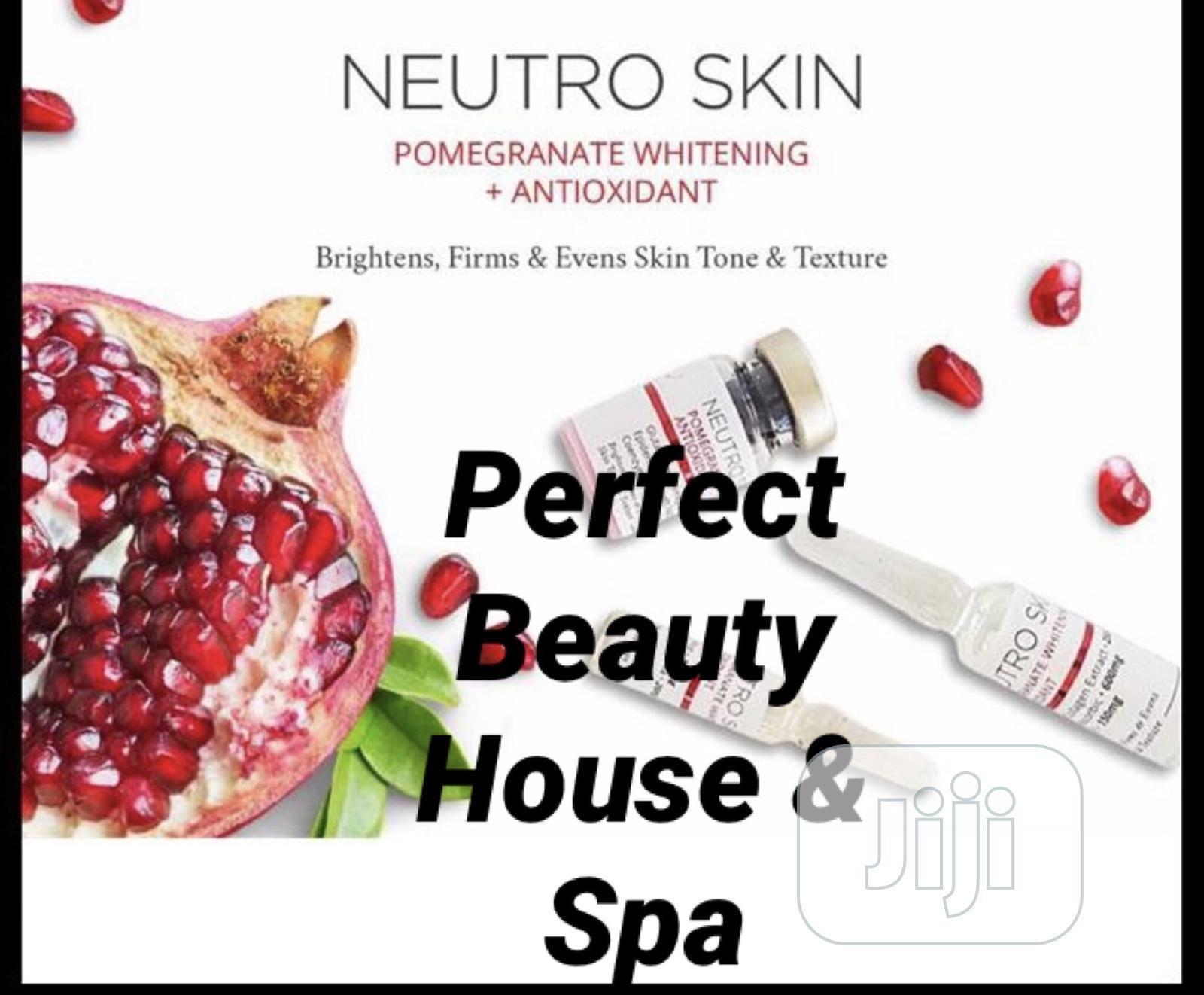 Neutro Skin Pomegranate Whitening Antioxidant IV   Vitamins & Supplements for sale in Ikeja, Lagos State, Nigeria