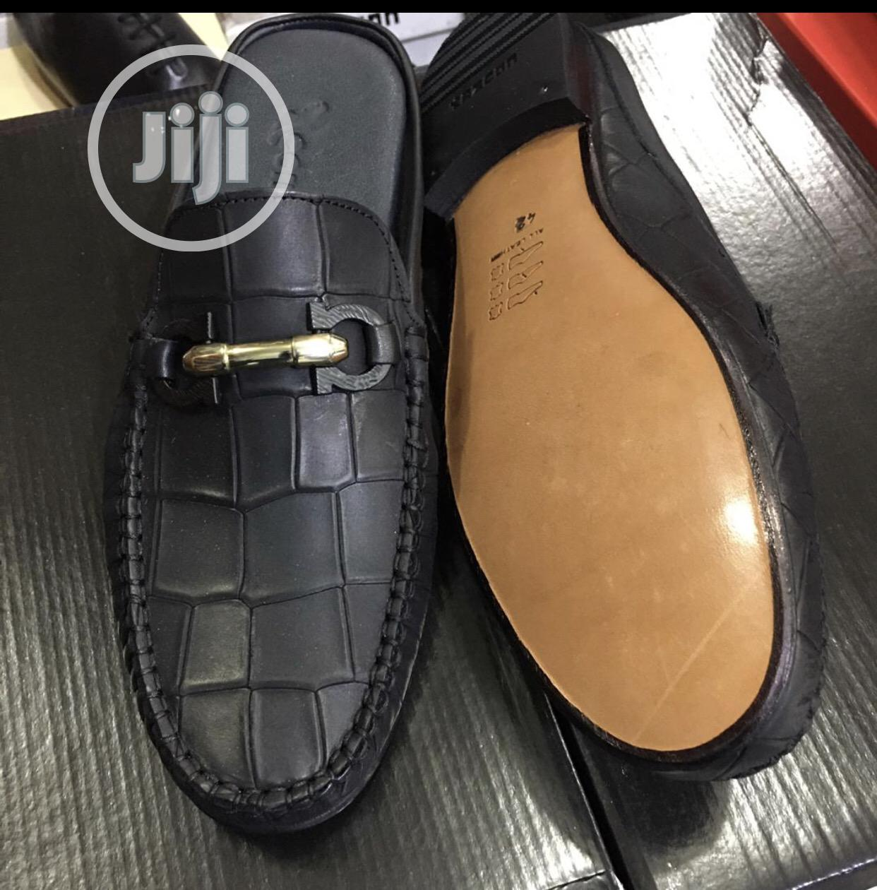 All Round Pure Italian Leather Half Shoe for Men | Shoes for sale in Lekki, Lagos State, Nigeria