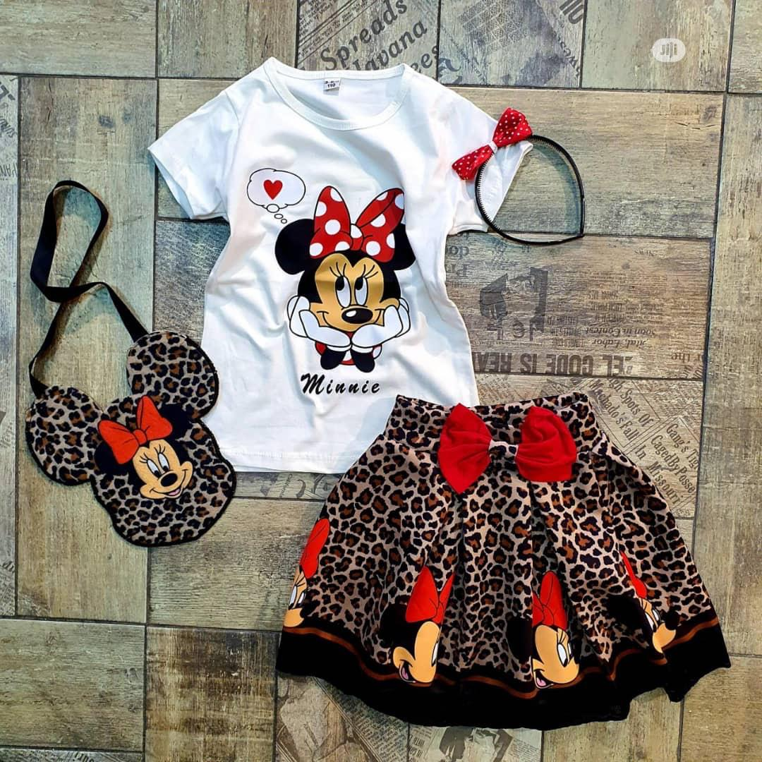 Milky Mouse Two Pieces For Baby Girl Age 2 -8 Years | Children's Clothing for sale in Ikorodu, Lagos State, Nigeria