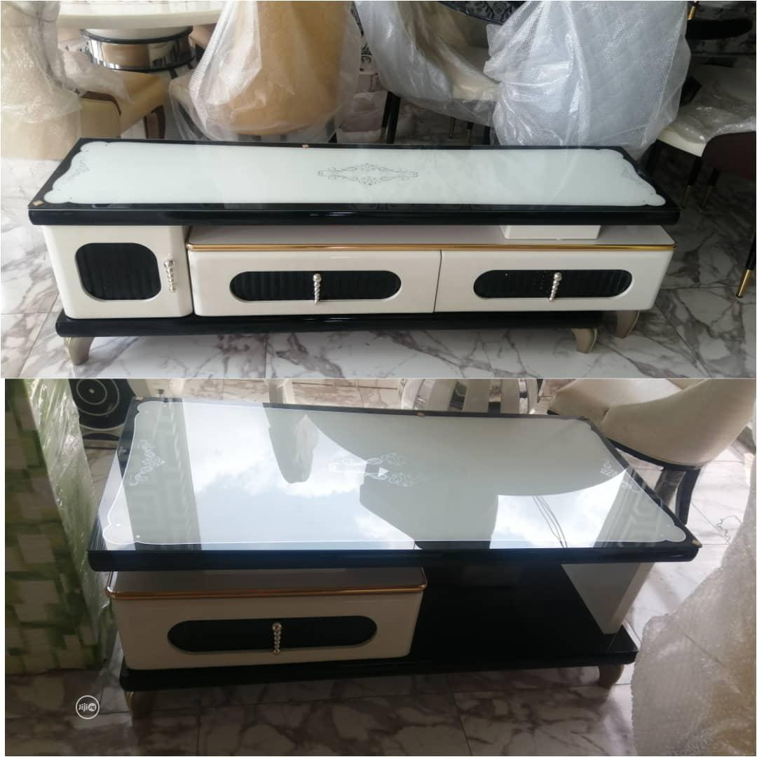 Archive: Durable TV Stand And Center Table