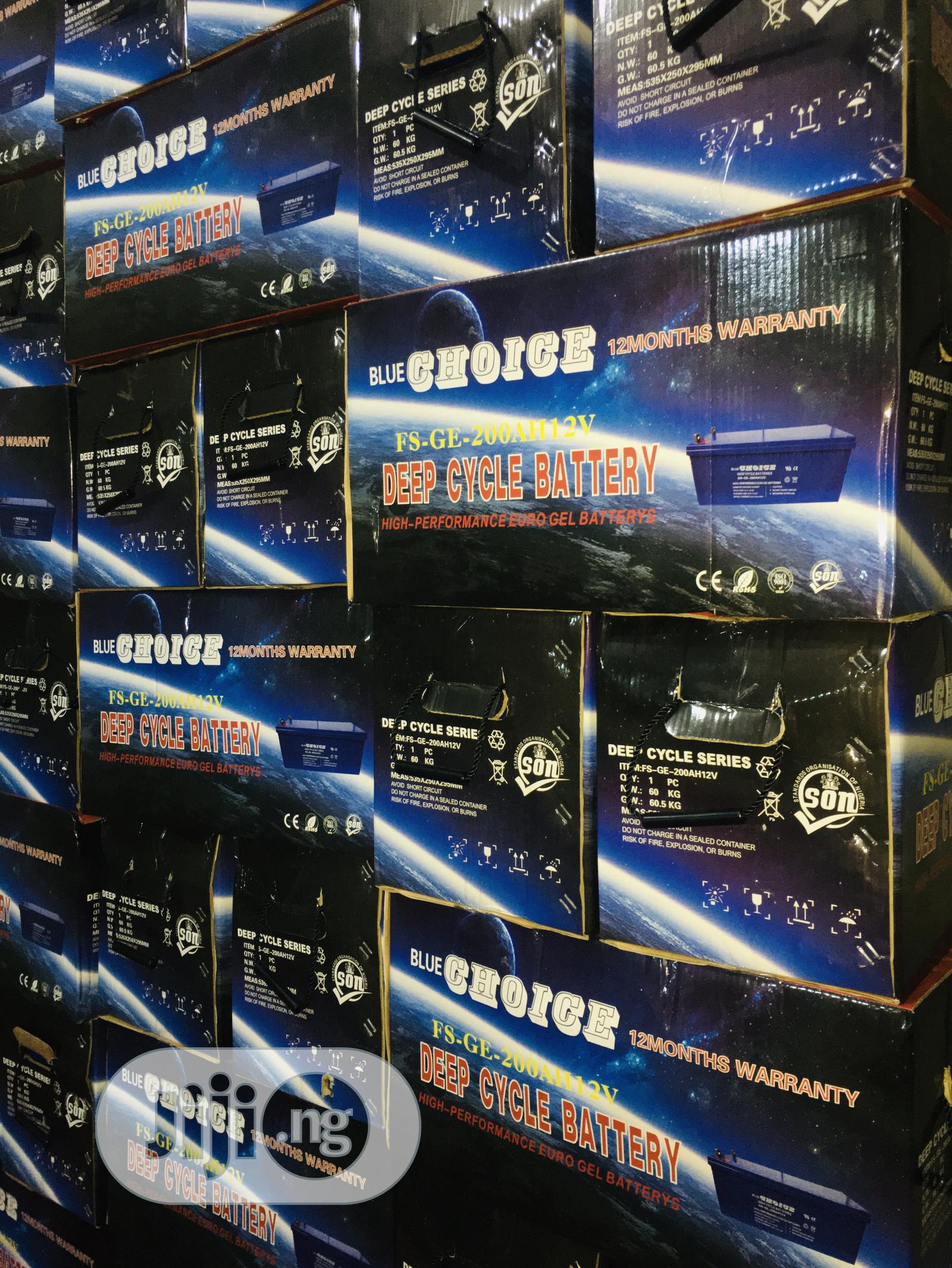 Archive: 200ah 12v Blue Choice Battery