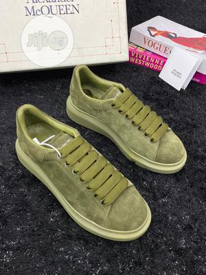 Alexander Mc Queen Olive Green Sneakers | Shoes for sale in Lagos State, Lagos Island (Eko)