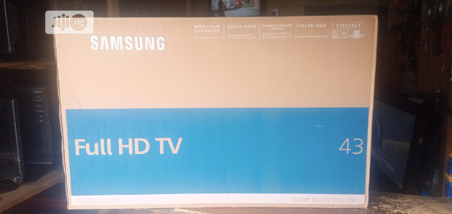 43 Inch Brand New Samsung Full HD LED Television | TV & DVD Equipment for sale in Ojo, Lagos State, Nigeria