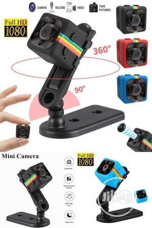 SQ11 Mini Spy Camera HD 1080P Night Vision Mini Camcorder. | Security & Surveillance for sale in Lagos State, Ikeja