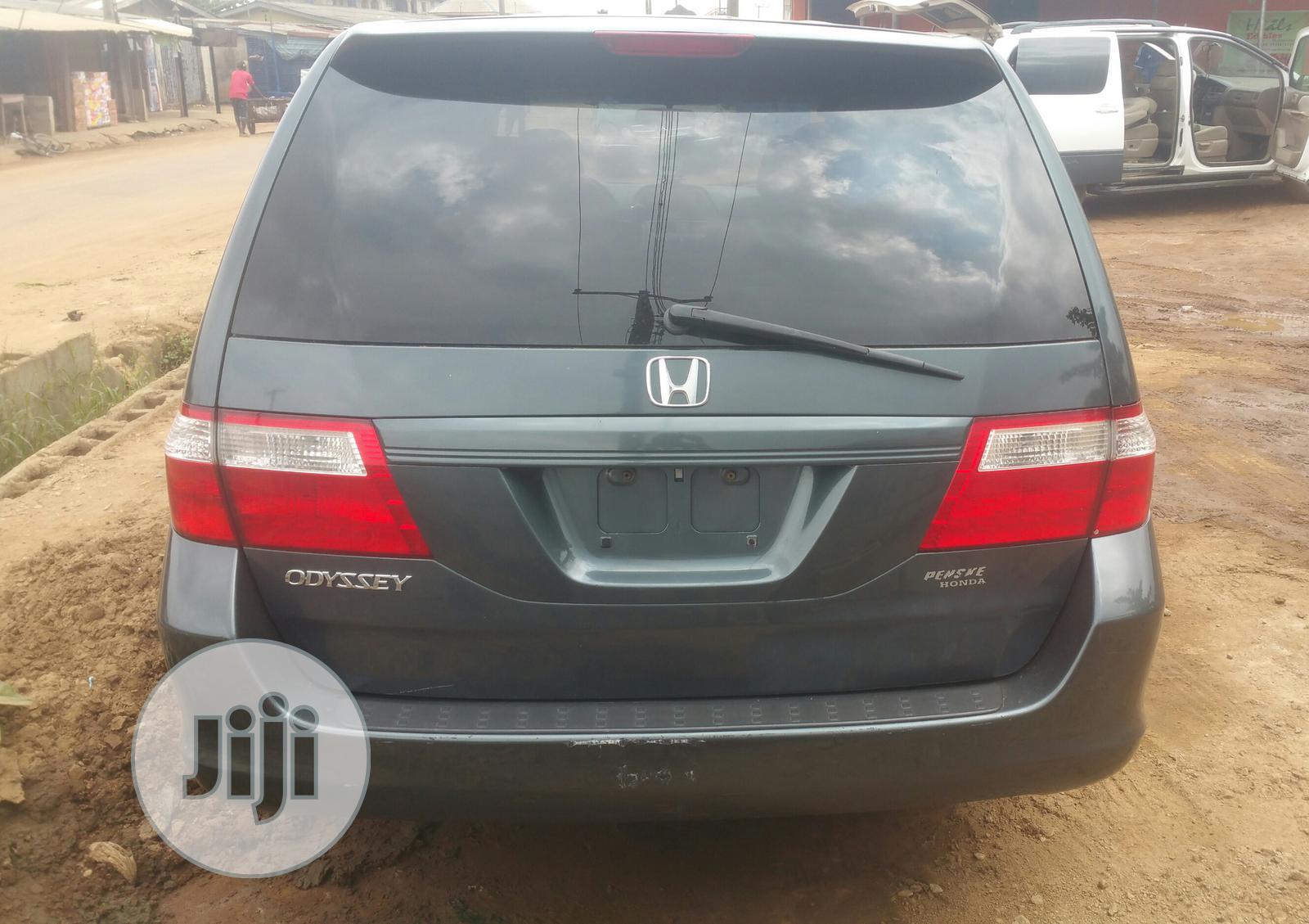 Honda Odyssey 2006 Gray