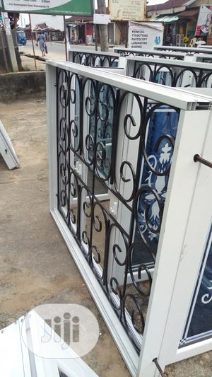 Casement Window With Burglary Proof And Glass Design | Windows for sale in Rivers State, Port-Harcourt