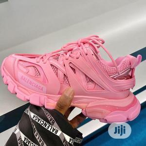 Balenciaga Track 3.0 Pink Sneakers   Shoes for sale in Lagos State, Lagos Island (Eko)