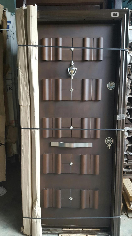 3ft Turkey Embossed Security Door