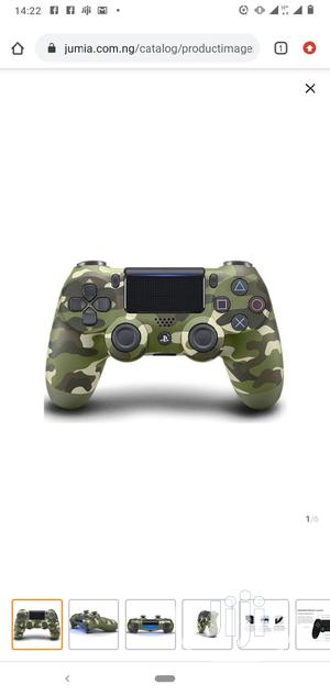 PS4 Pad - Dualshock 4 Wireless Controller -Camo | Accessories & Supplies for Electronics for sale in Lagos State, Ikeja