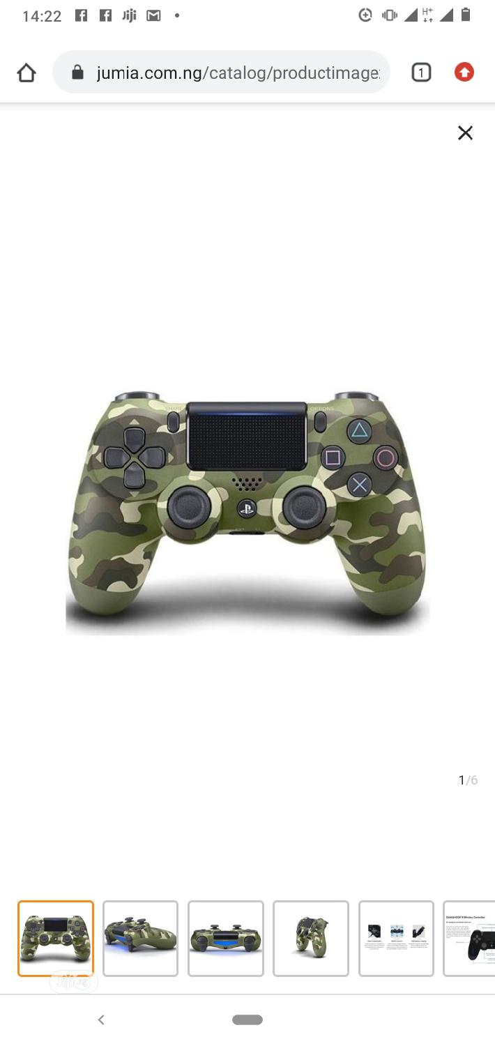 Archive: PS4 Pad - Dualshock 4 Wireless Controller -Camo