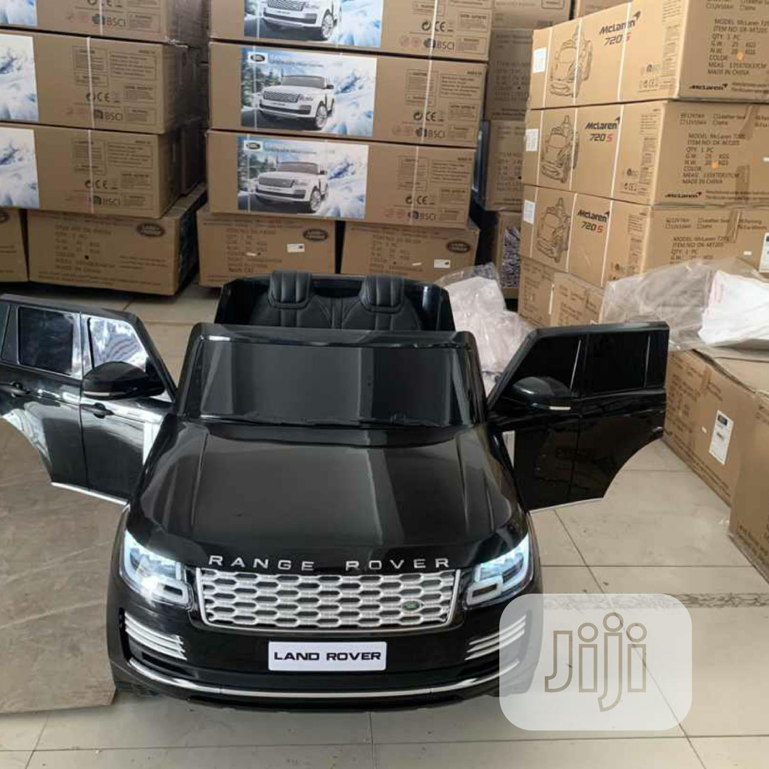 Archive: Licensed Range Rover Ride On Car