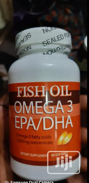 ORIGINAL- Fish Oil Omega 3 Memory Brain Support   Vitamins & Supplements for sale in Abuja (FCT) State, Galadimawa