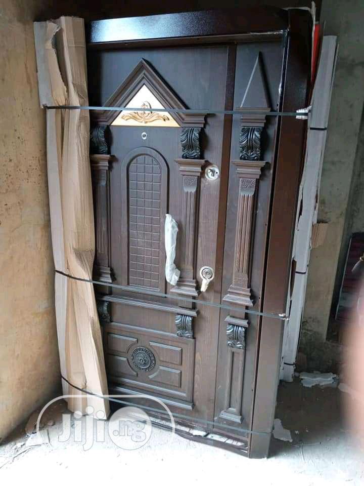 Archive: 4ft Armored Luxury Turkish Security Door