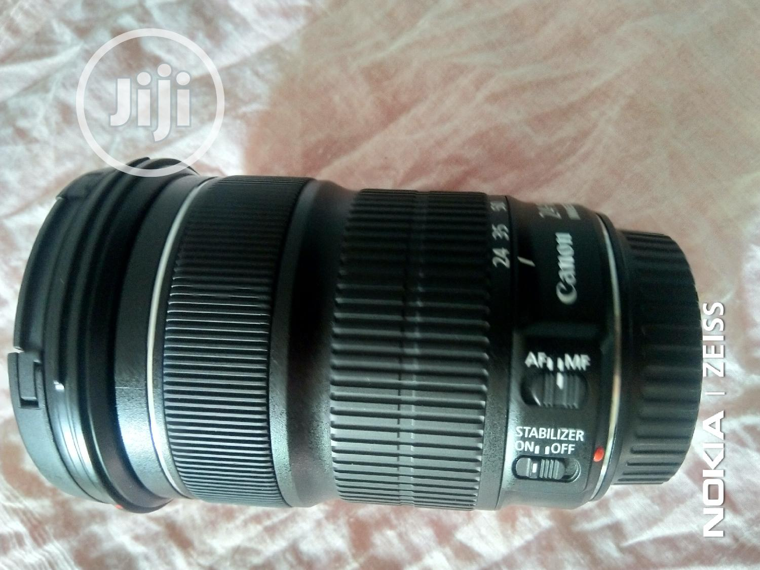 Canon Lens 24-105mm STM | Accessories & Supplies for Electronics for sale in Ikeja, Lagos State, Nigeria