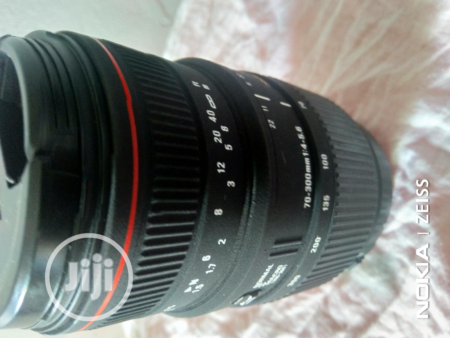 Sigma 70-300mm For Canon