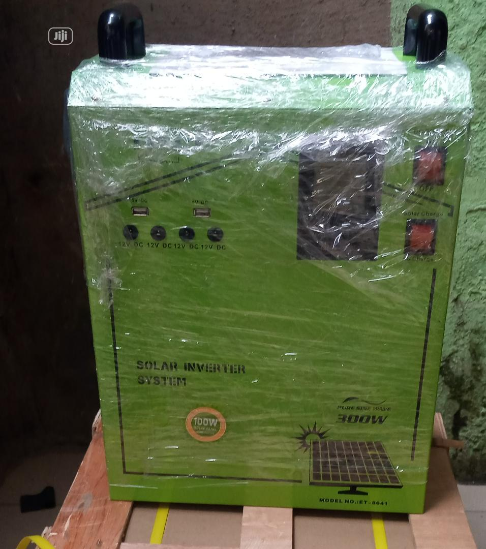300w Solar GENERATOR Available Now