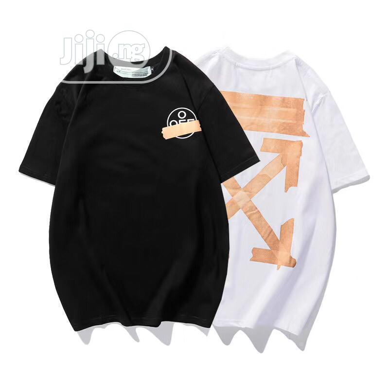 Quality Offwhite T-Shirts   Clothing for sale in Alimosho, Lagos State, Nigeria