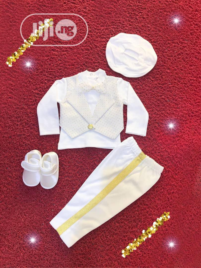 Turkey Baby Boy Christening Wear