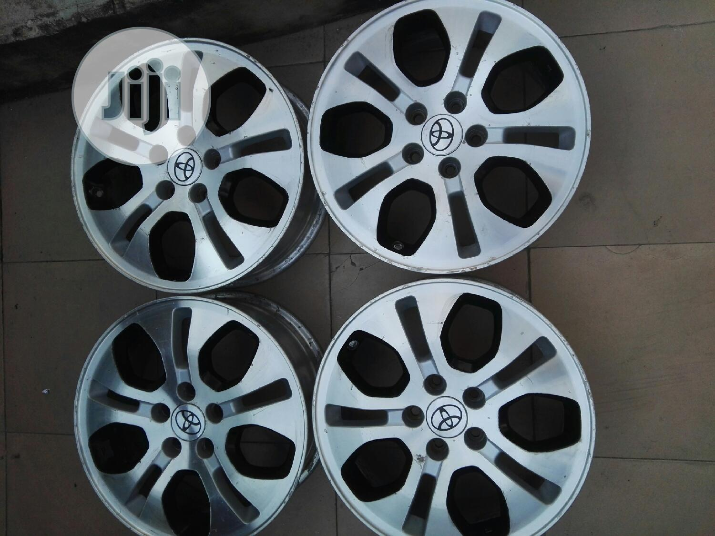 Original Alloy Rims And Tires