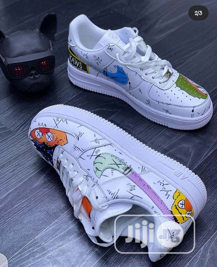 Kaws X Nike Air Force 1 ( Sesamestree