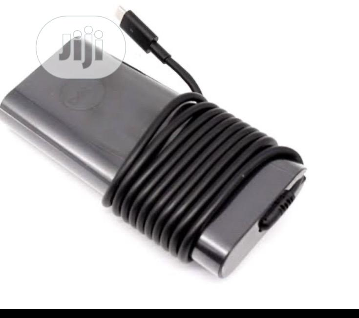 Dell Type C 130wh Charger Fits Precision 5530,XPS 15 9575   Computer Accessories  for sale in Ikeja, Lagos State, Nigeria