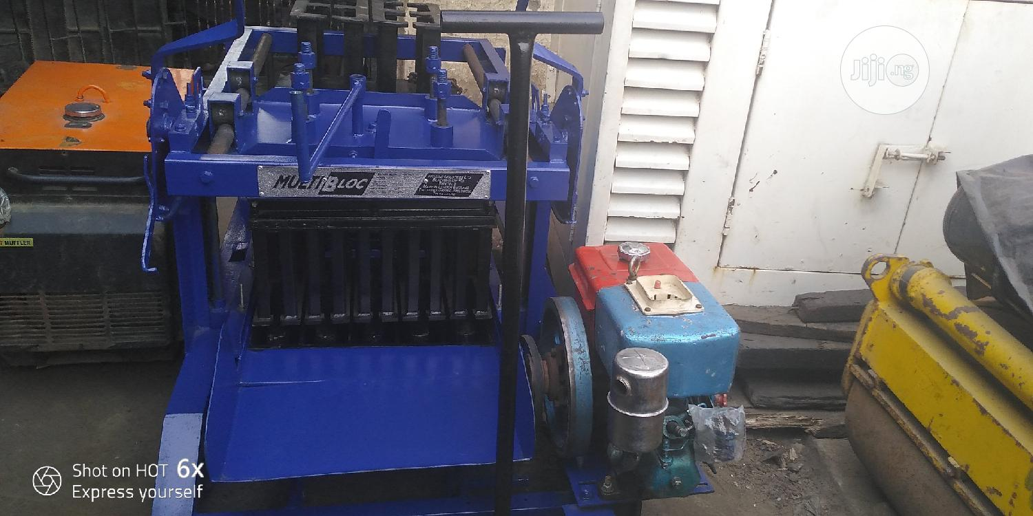 Layers Block Moulding Machine   Manufacturing Equipment for sale in Ikoyi, Lagos State, Nigeria