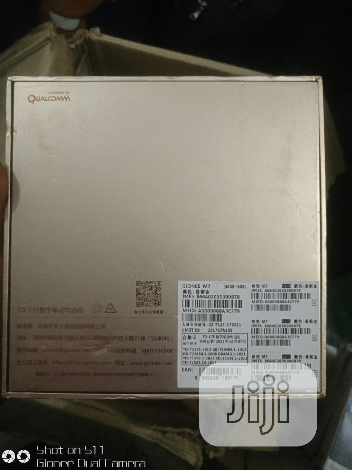 New Gionee M7 Power 64 GB Gold