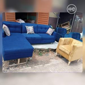 Set Of L-shaped Sofa With One Single.... | Furniture for sale in Lagos State, Badagry