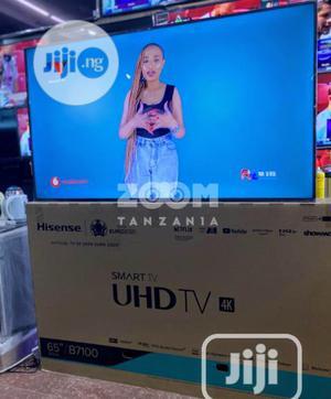 "✓ Hisense 65""Inch UHD 4K Series 7 Smart""Netflix"" Wifi   TV & DVD Equipment for sale in Lagos State, Ojo"