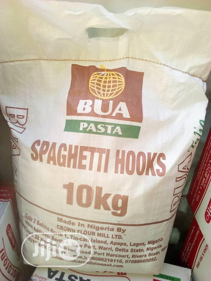 10KG BUA Spaghetti Hooks Pasta