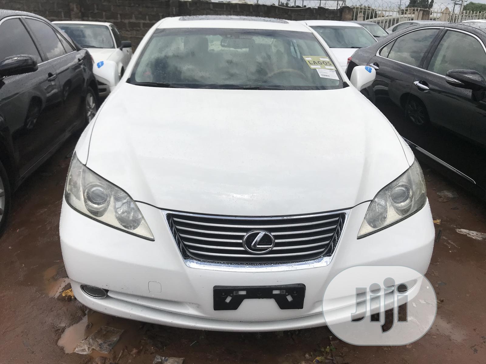 Lexus ES 2009 350 White