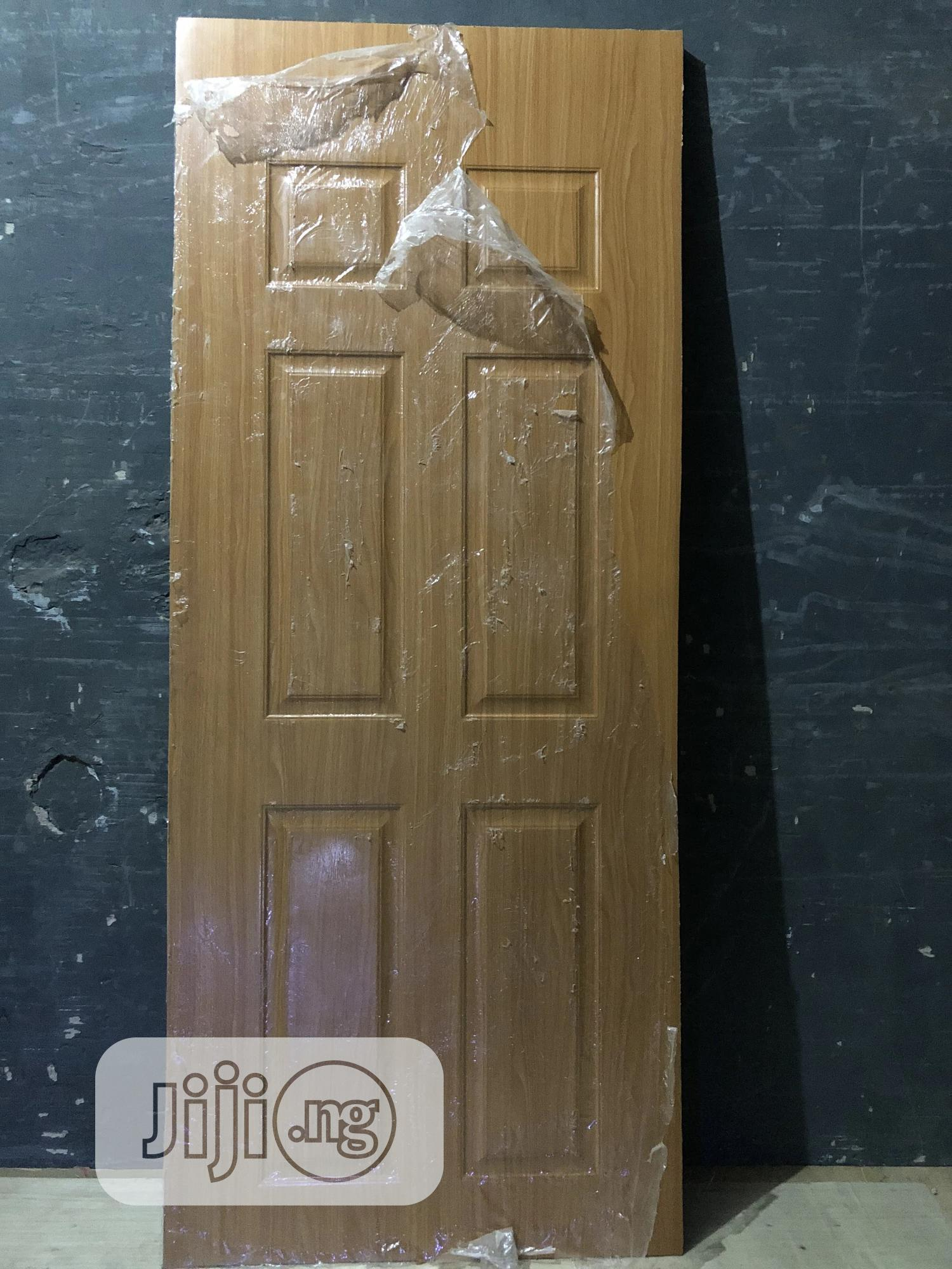Archive: Wooden Panel Door