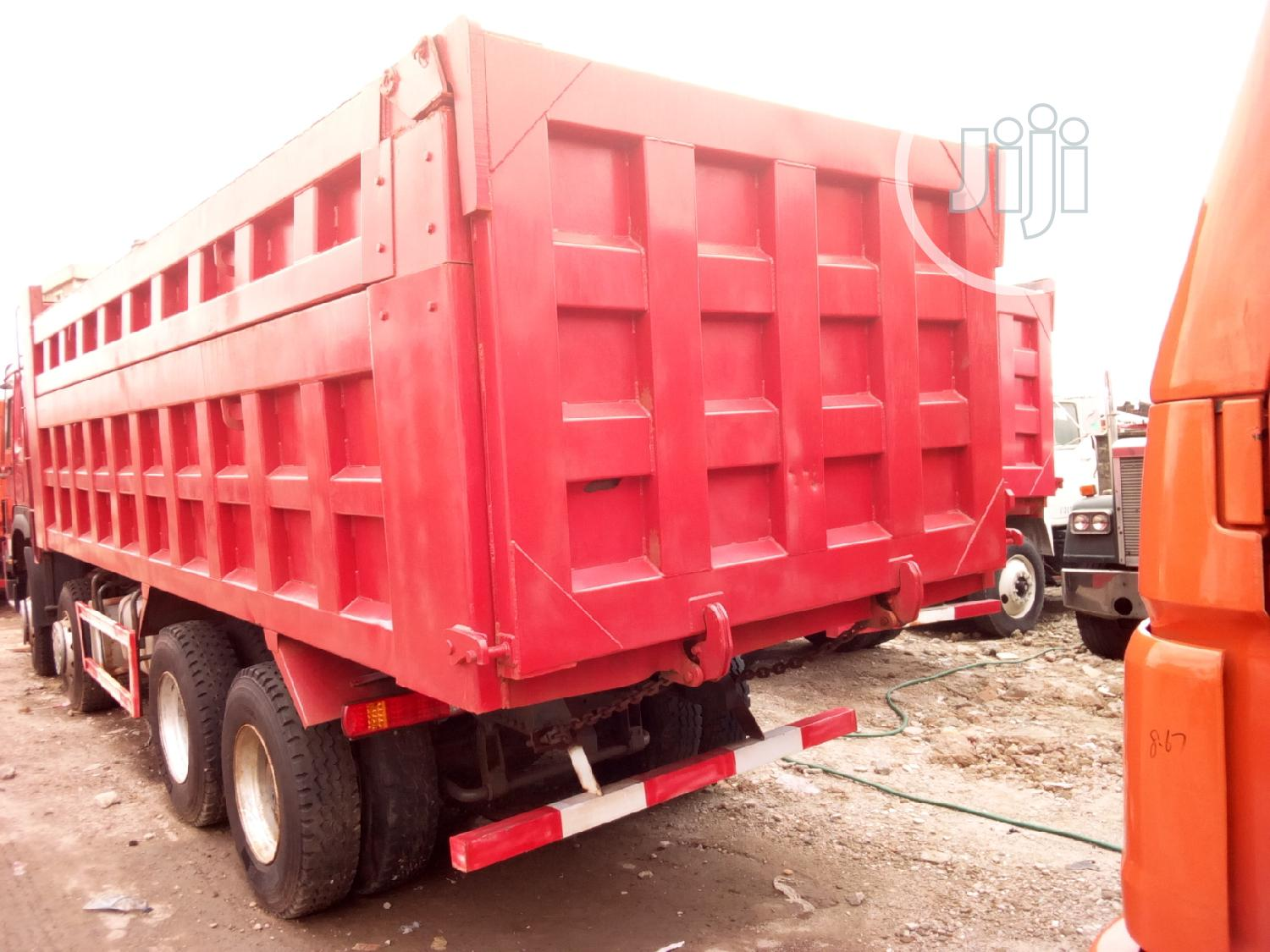 Howo Dump Truck 12 Tyres 35 Tons | Heavy Equipment for sale in Amuwo-Odofin, Lagos State, Nigeria
