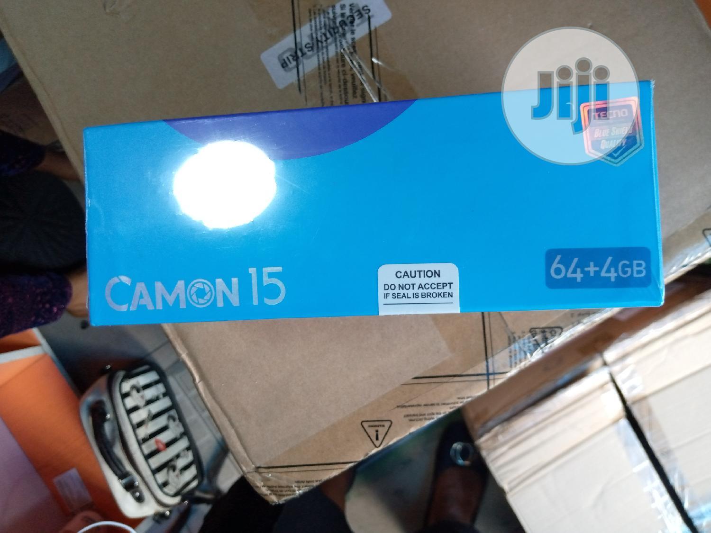 New Tecno Camon 15 64 GB | Mobile Phones for sale in Ikeja, Lagos State, Nigeria