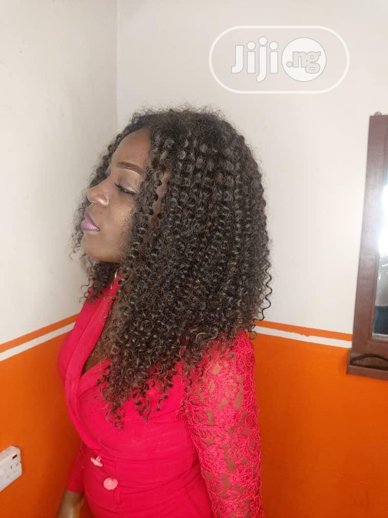 Archive: Original Human Hair Wig With Closure