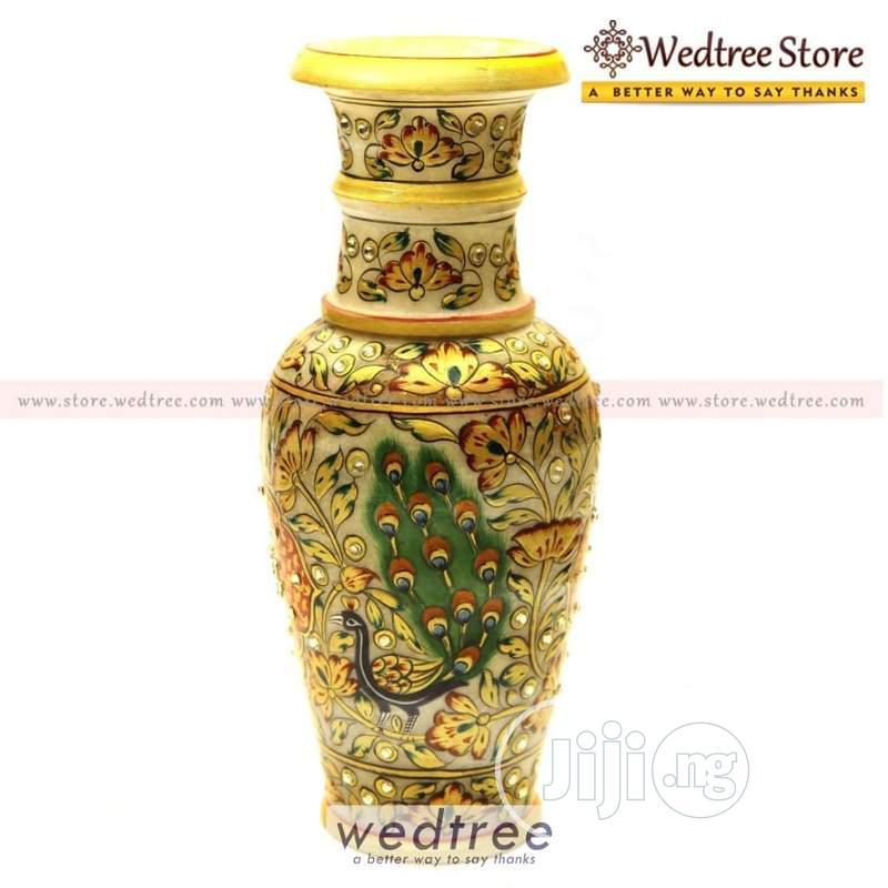 Marble Vase Flower Pot