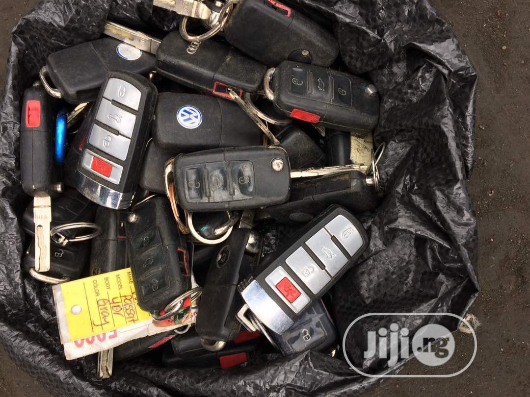 All Type Of Volkswagen Ignition Keys