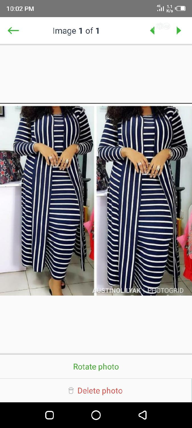 Female Long Gown and Jacket | Clothing for sale in Lagos Island, Lagos State, Nigeria