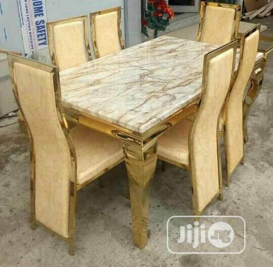 Archive: Marble Dining Table And Seat