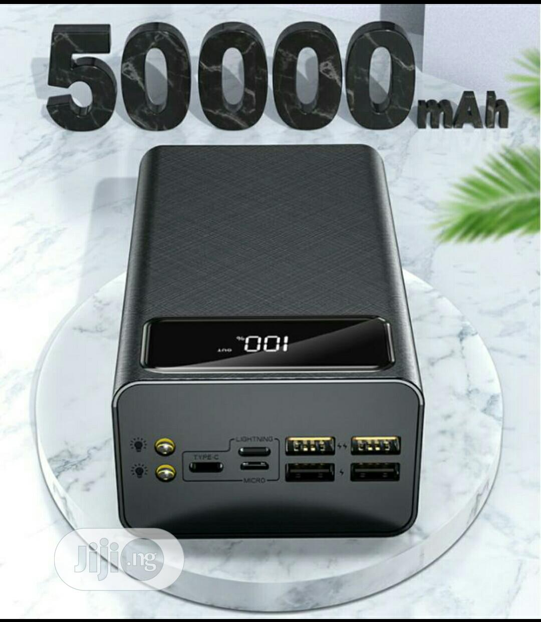 Archive: Smart Super Fast Charging Power Bank 50000mah