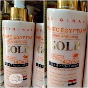 Purec Egyptain Gold Lotion   Skin Care for sale in Lagos State, Amuwo-Odofin