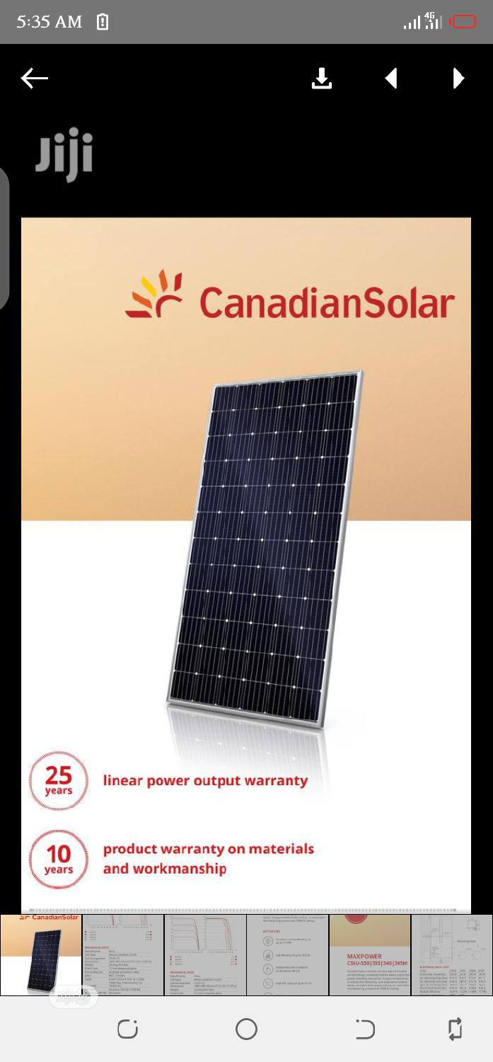 Canadian Solar Panel (Brand New) | Solar Energy for sale in Akure, Ondo State, Nigeria
