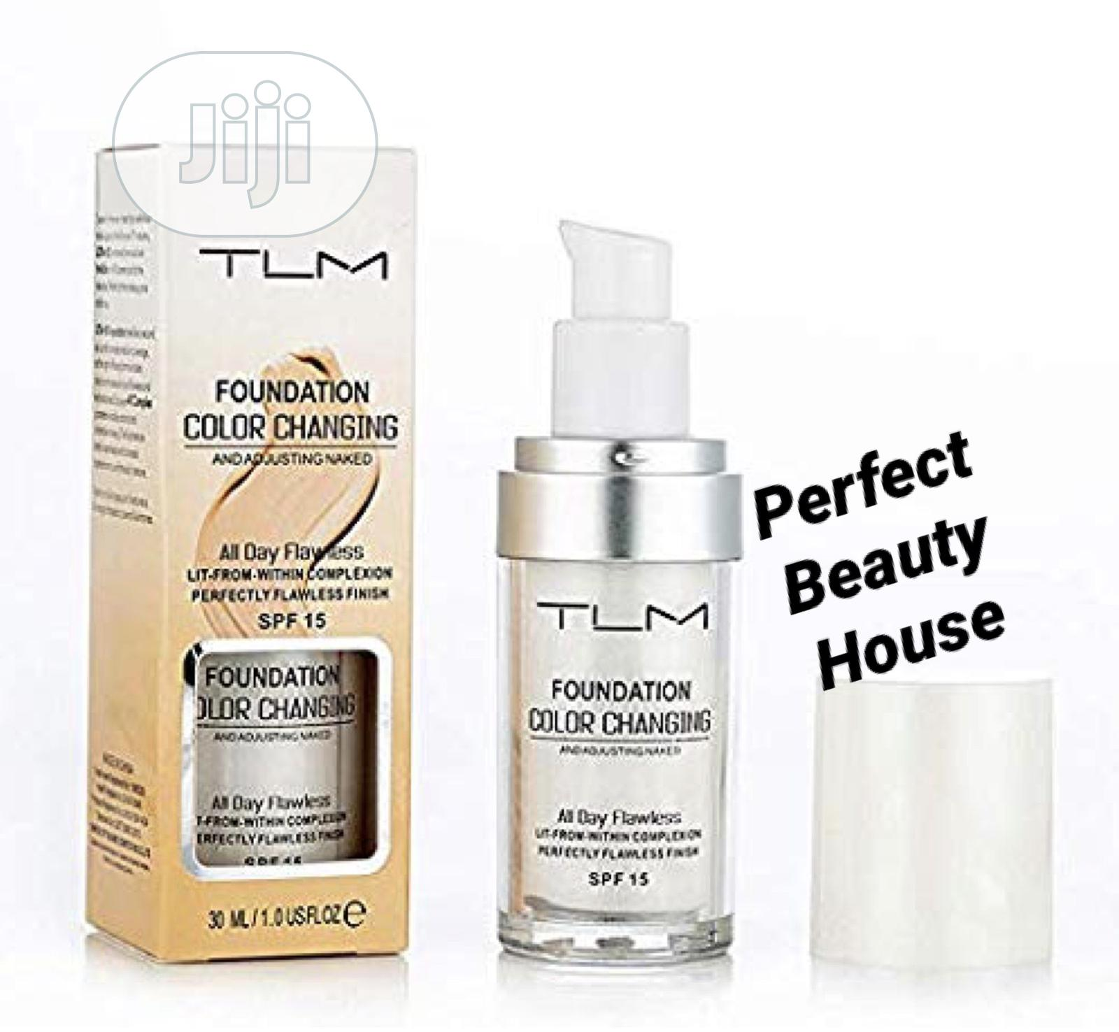 TLM Color Changing Foundation SPF 15 - 30ML