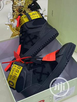 Off White High Top Sneakers Original | Shoes for sale in Lagos State, Surulere