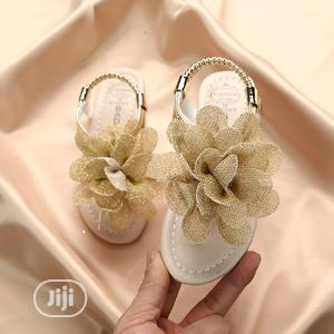 Baby/Kid Girls Gold Sandal   Children's Shoes for sale in Lagos State, Agboyi/Ketu