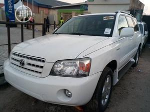 Toyota Highlander 2006 V6 White   Cars for sale in Lagos State, Apapa