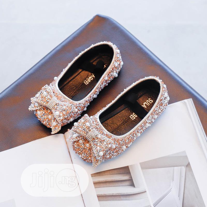 Girls Rhinestone Shoe